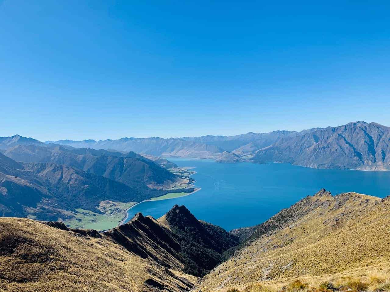 Lake Hawea Mountains