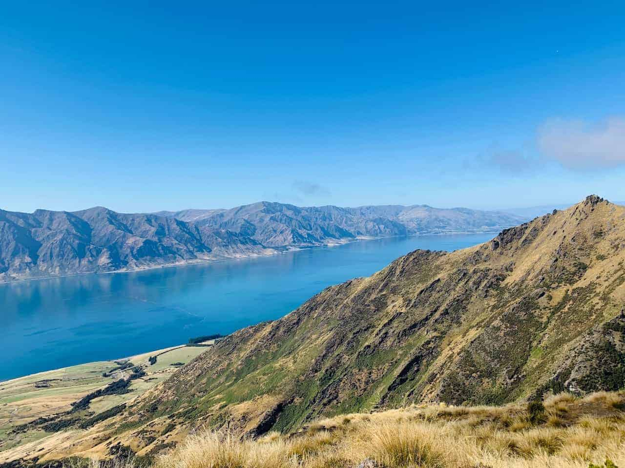 Lake Hawea View from Isthmus