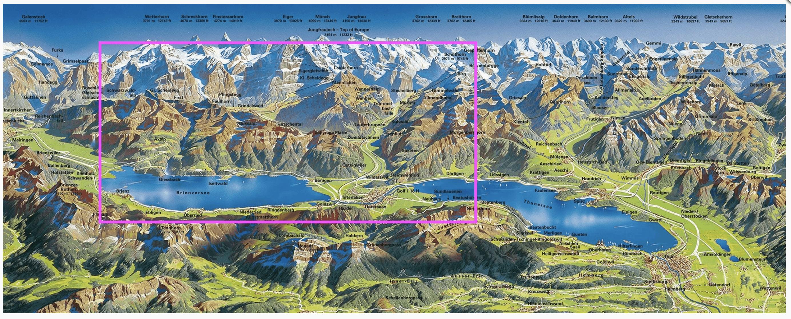 Bernese Oberland Jungfrau Region