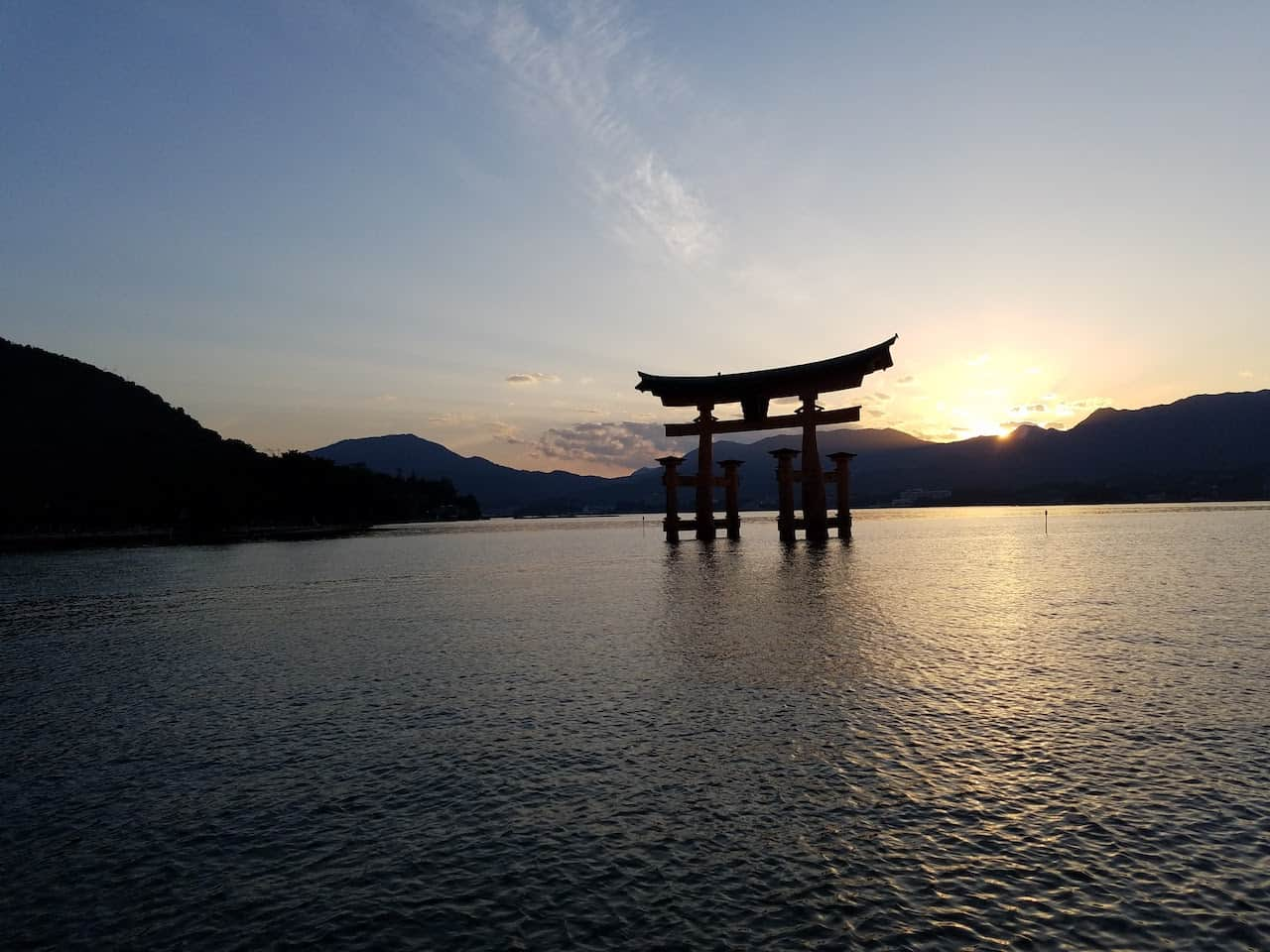 Kyoto to Miyajima