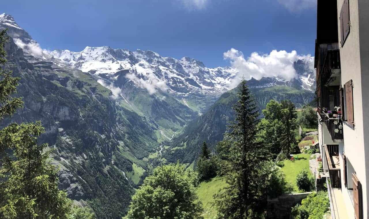Murren Lauterbrunnen Valley