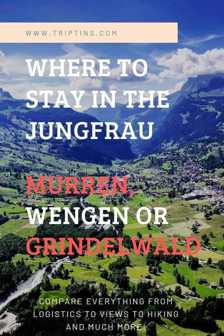 Murren Wengen or Grindelwald