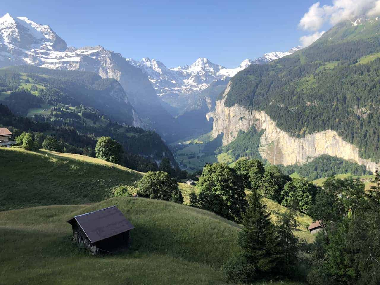 Wengen Lauterbrunnen Valley