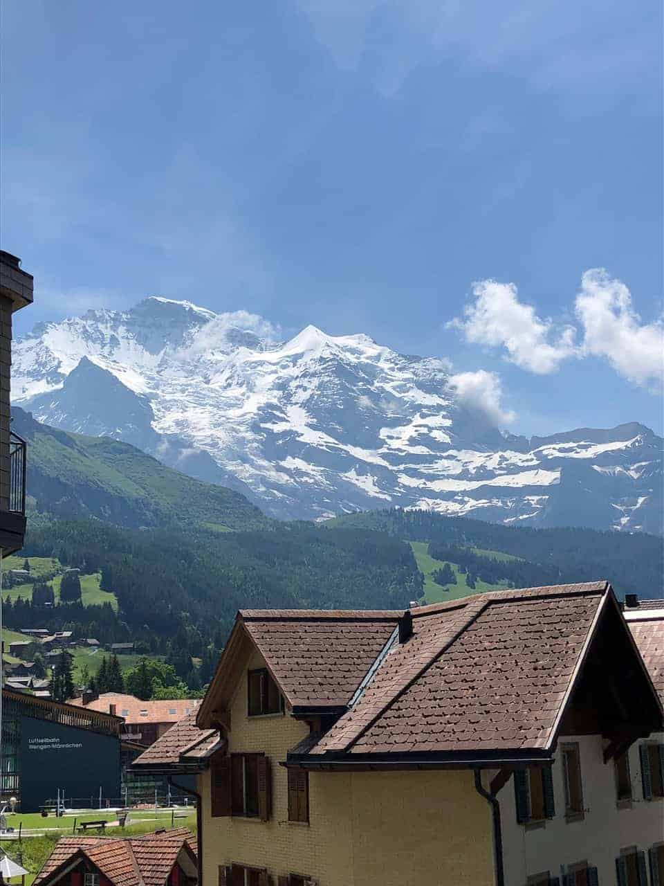 Wengen Mountains