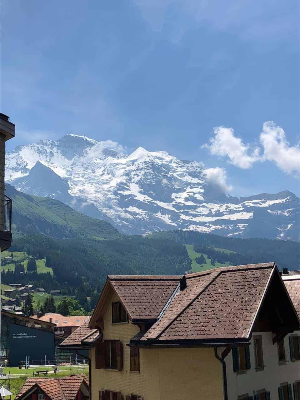 Wengen Mountains