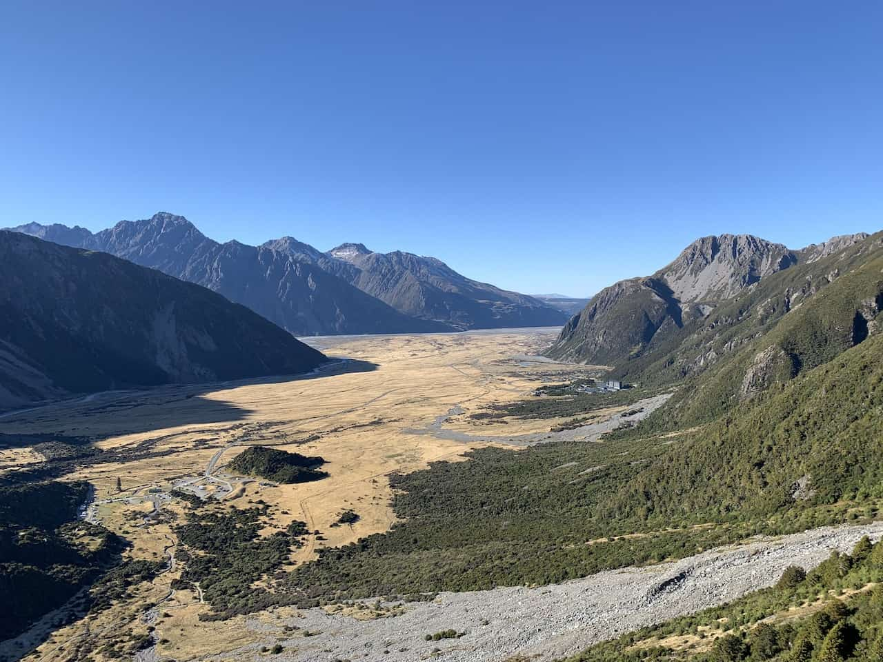 Mount Cook Valley