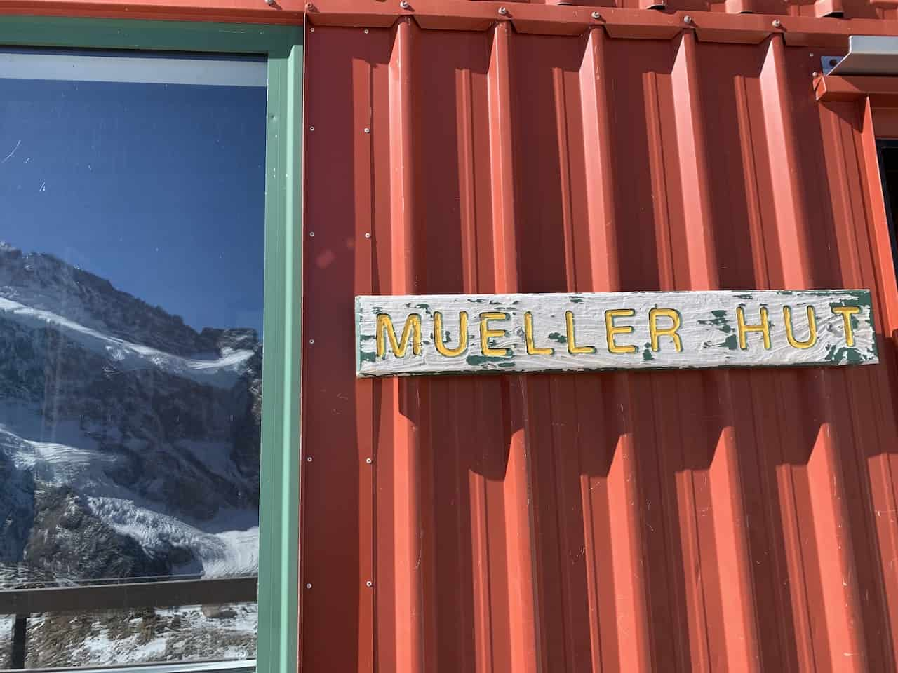 Mueller Hut Mount Cook