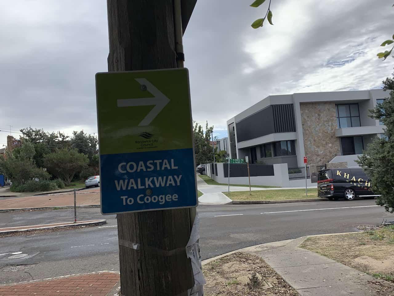 Coastal Walkway to Coogee