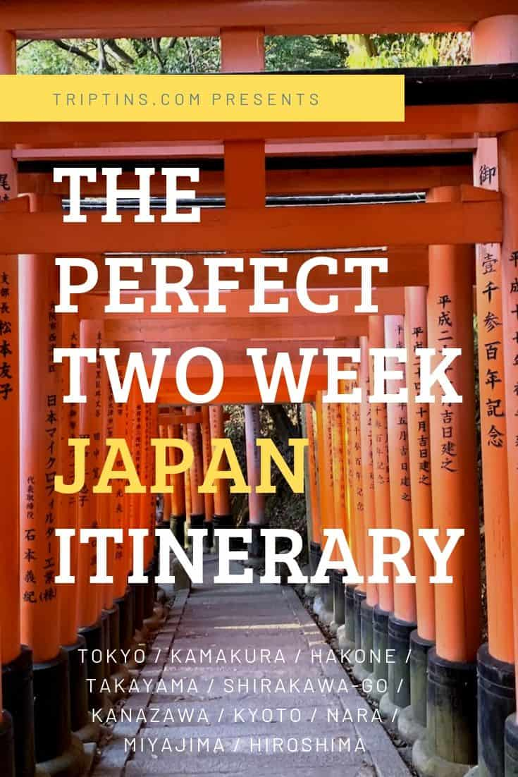 Japan Itinerary 14 Days