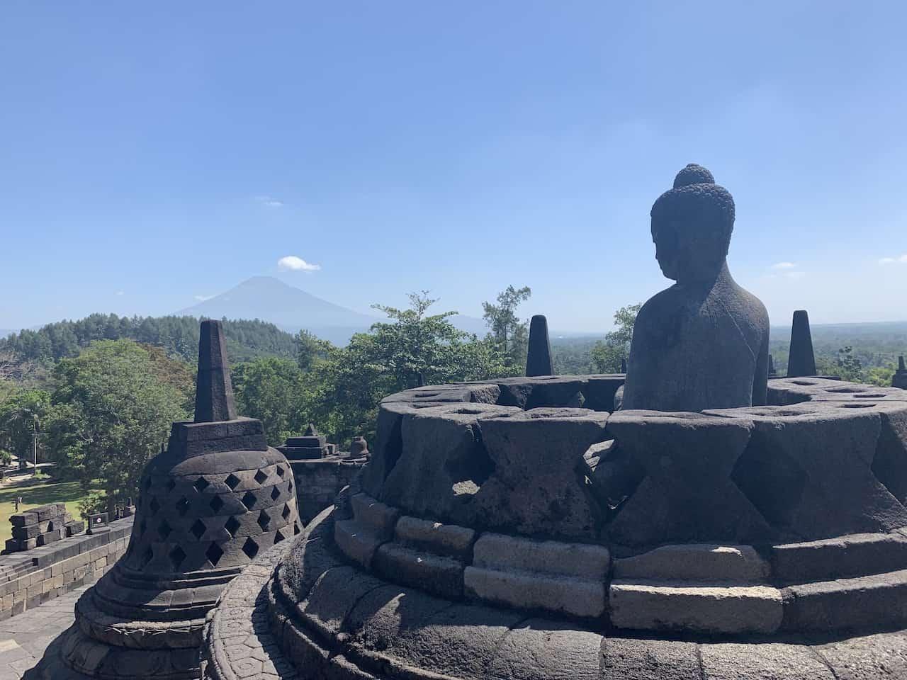 Borobudur Volcano