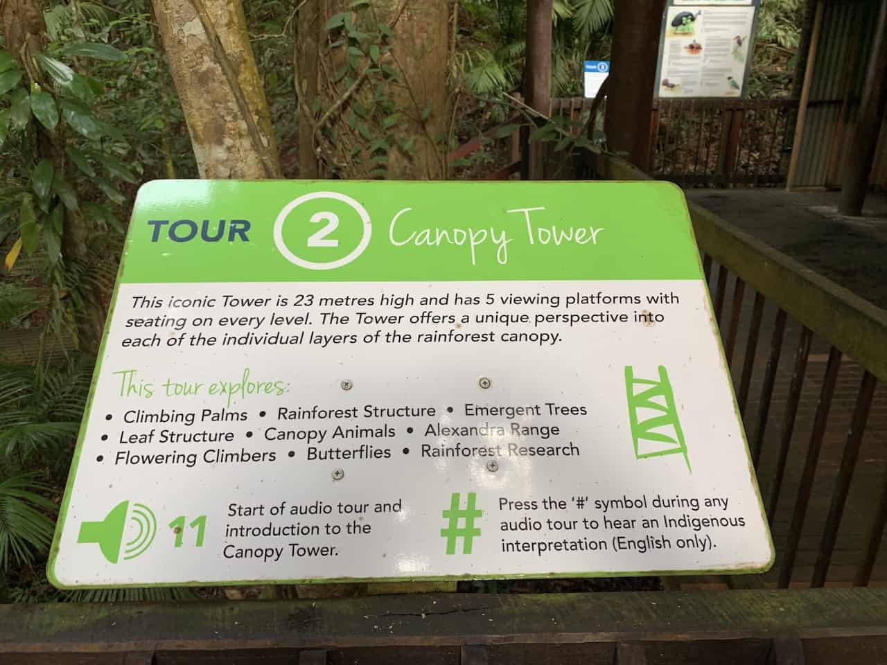 Canopy Tower Sign