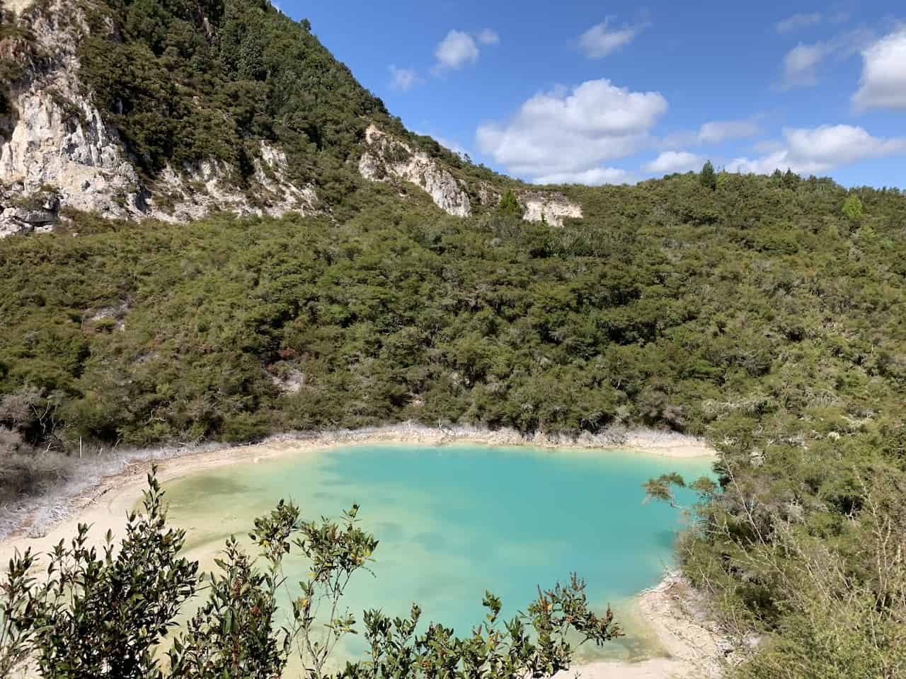 Crater Lake Rotorua