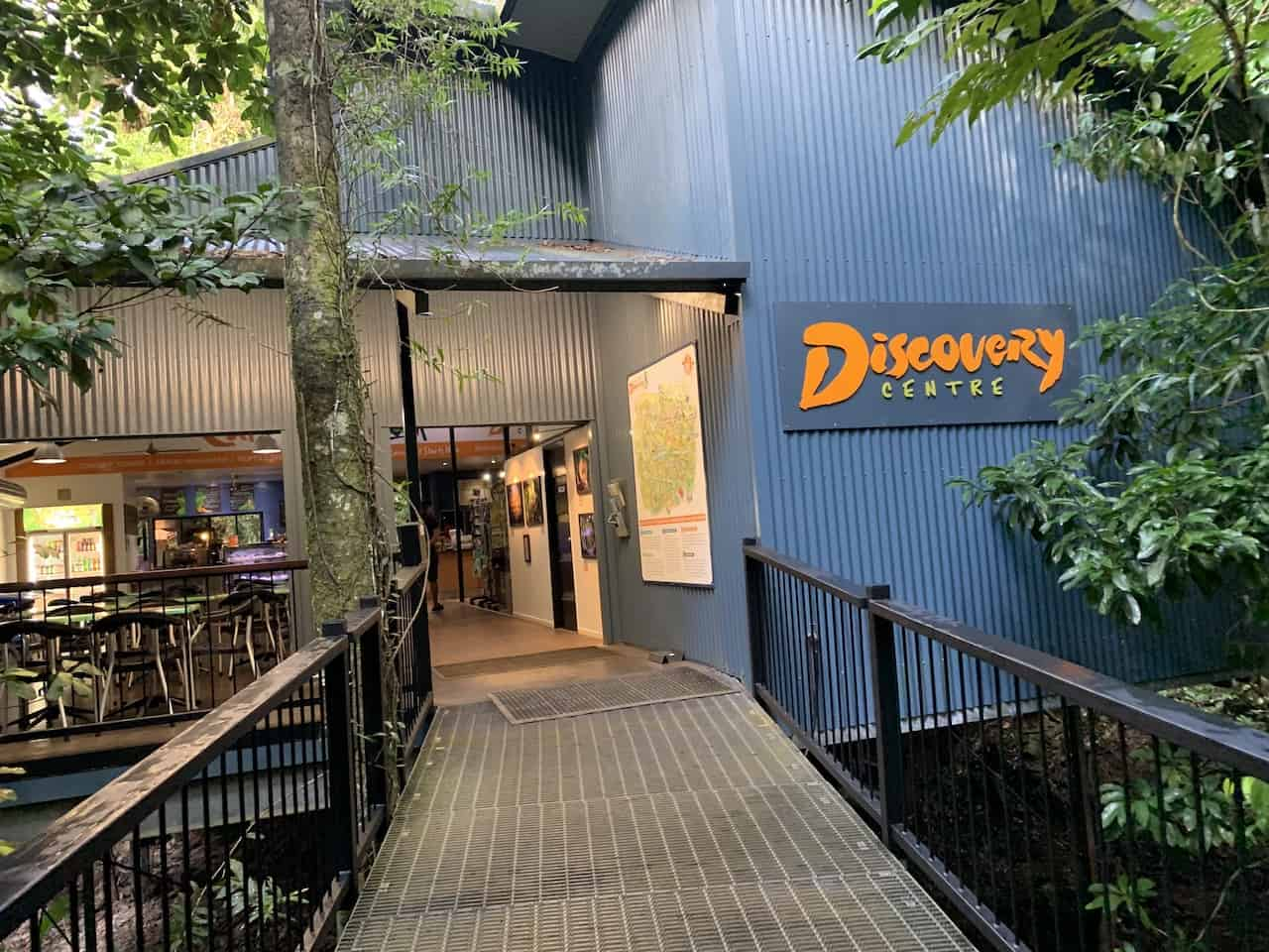 Daintree Discovery Centre Entrance