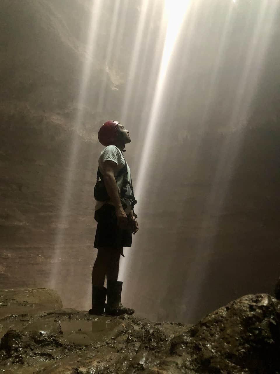 Goa Jomblang Light Cave