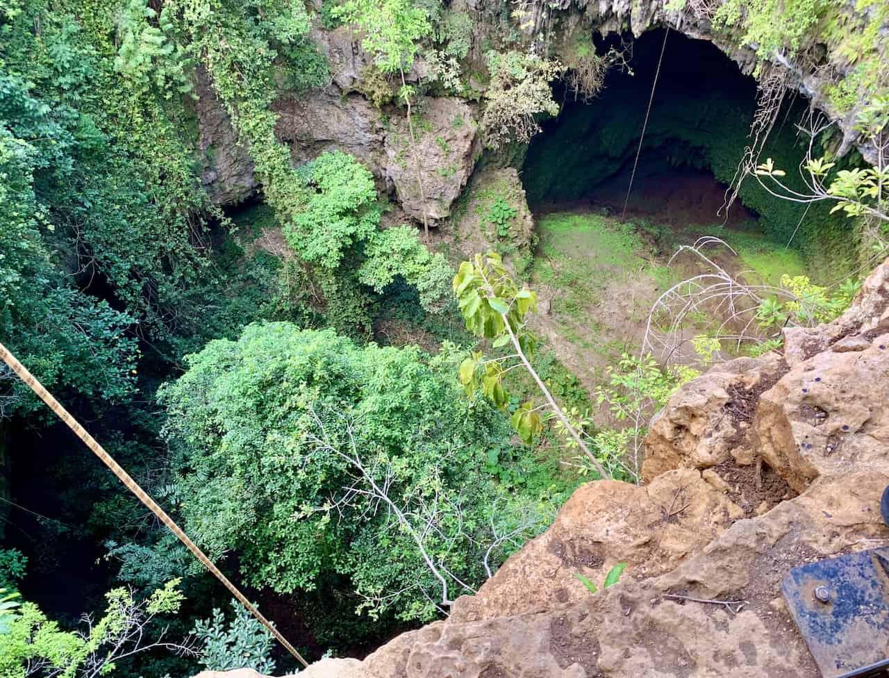 Goa Jomblang Sinkhole
