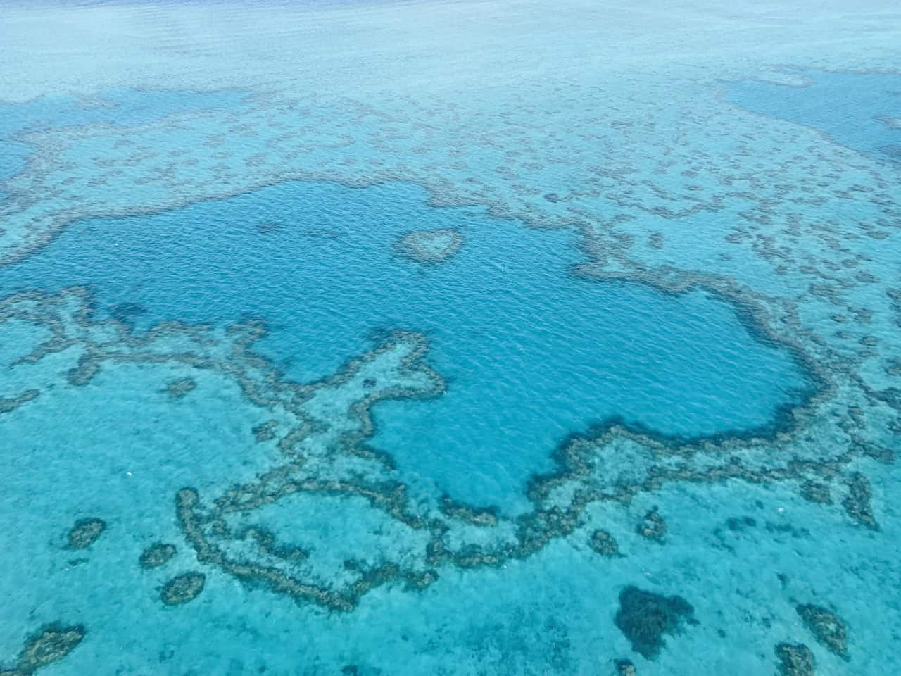 Great Barrier Reef Plane Ride