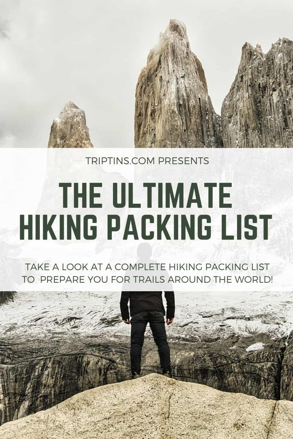 Hiking Packing List Guide