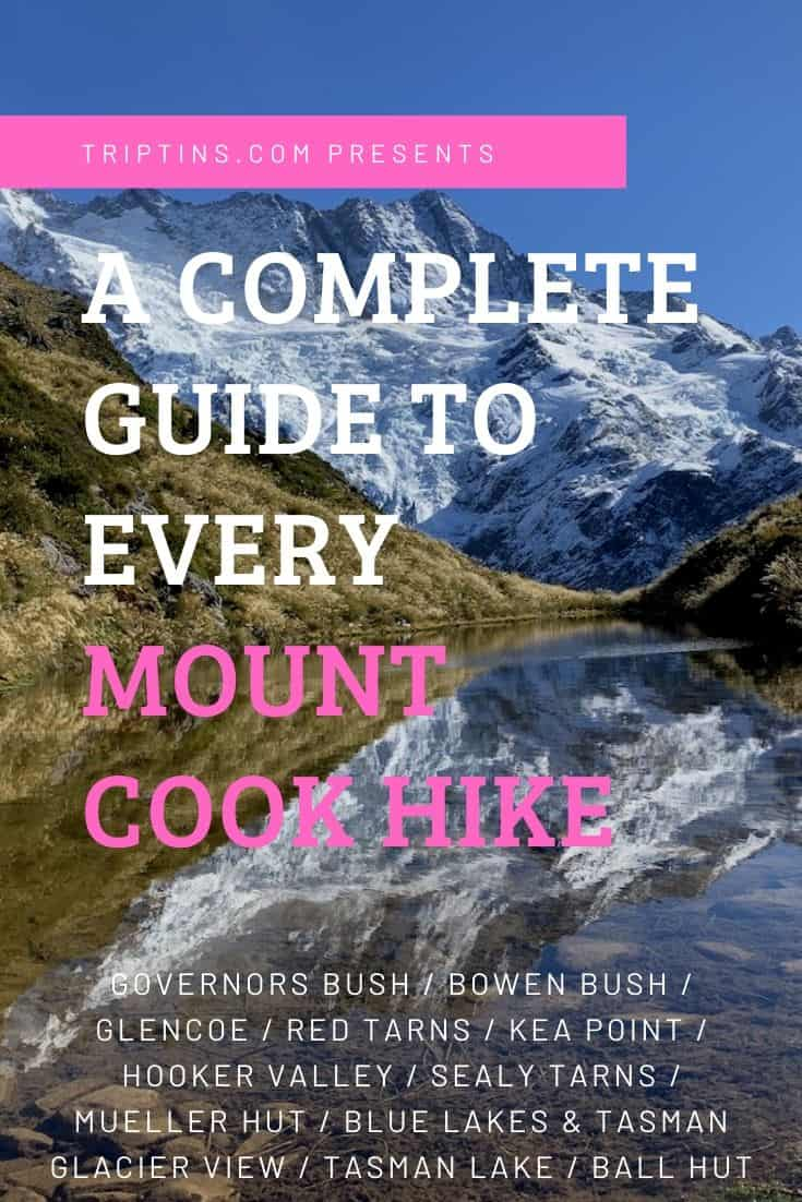 Mt Cook Hikes