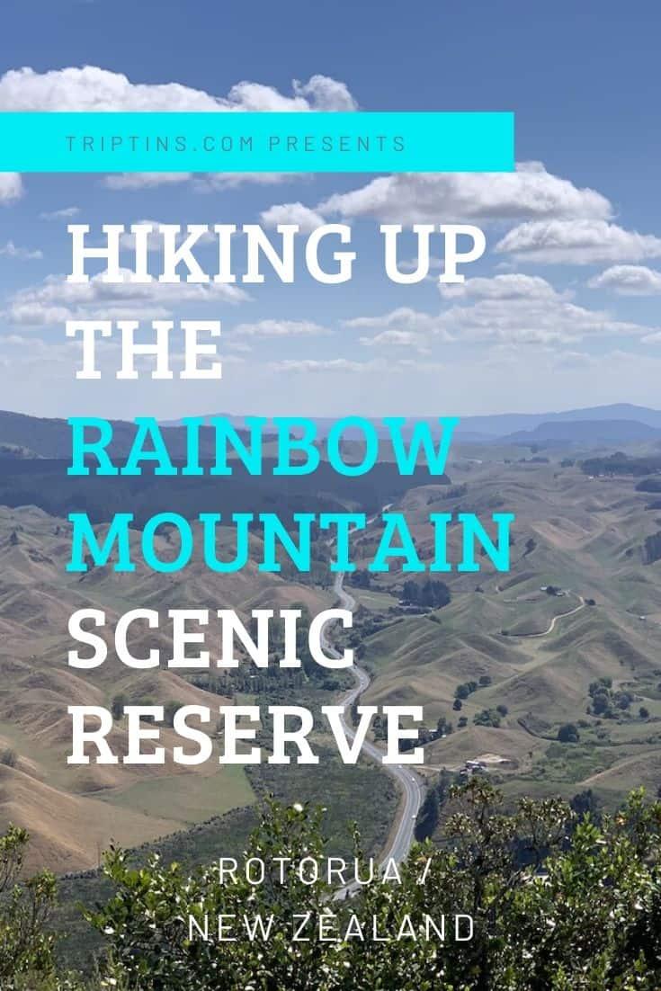Rainbow Mountain Rotorua