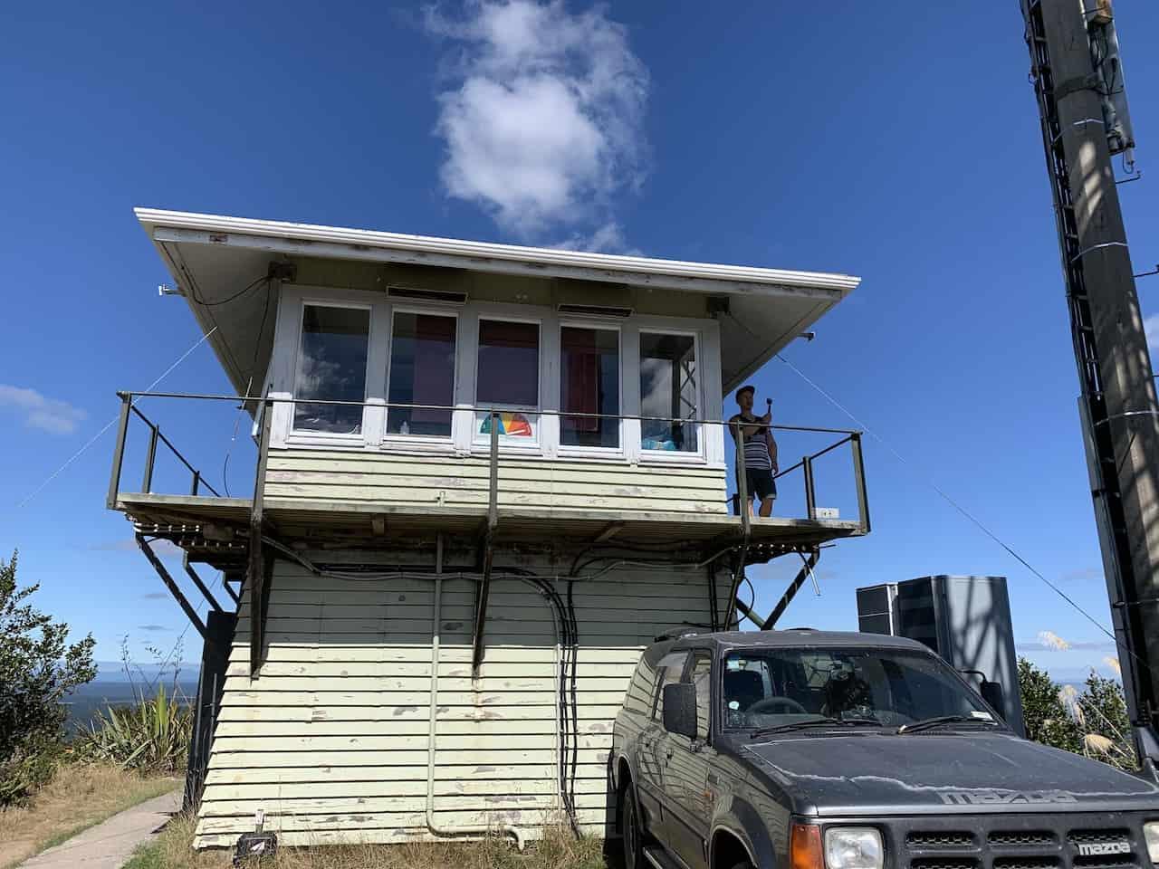 Rainbow Mountain Watch Tower