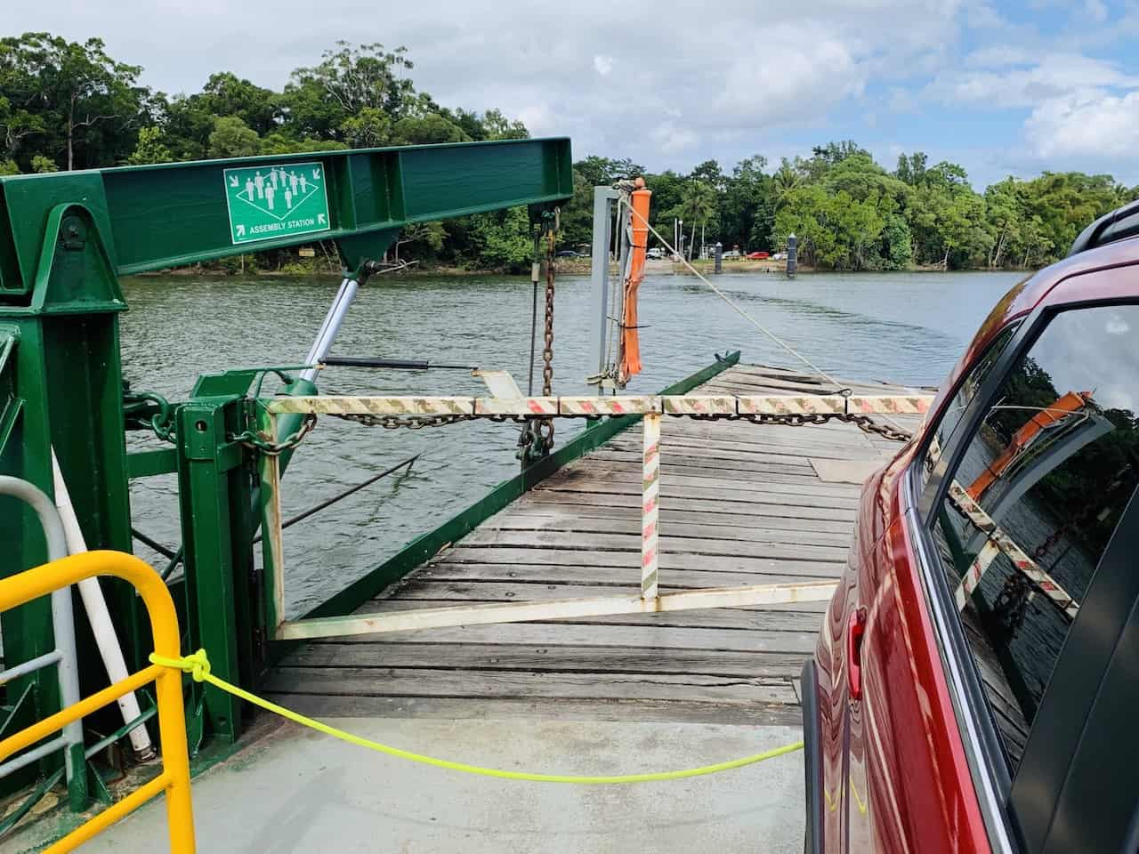 Daintree River Crossing