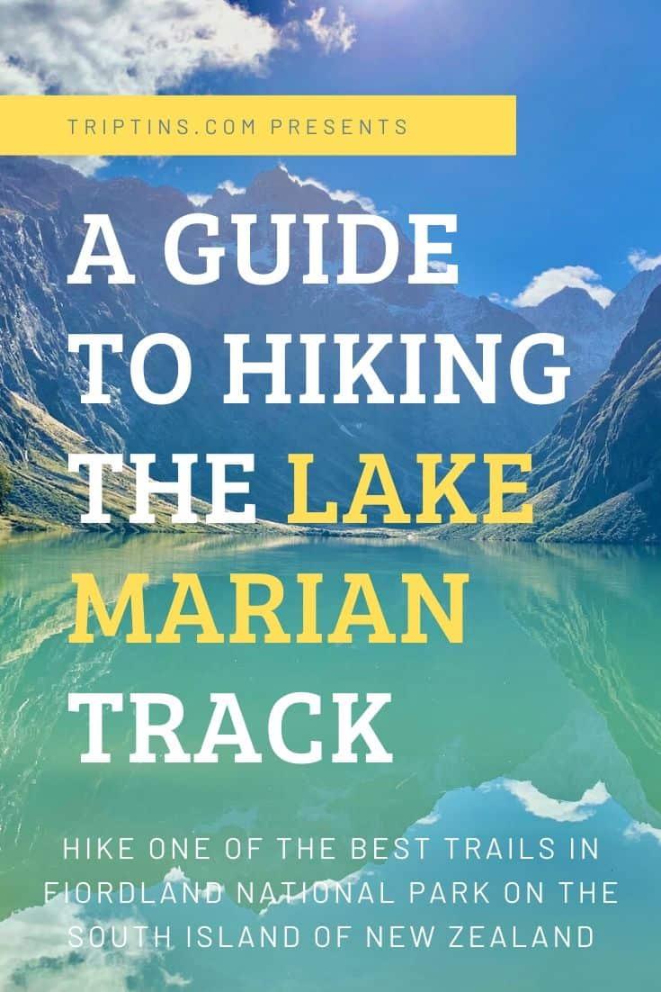 Lake Marian Track