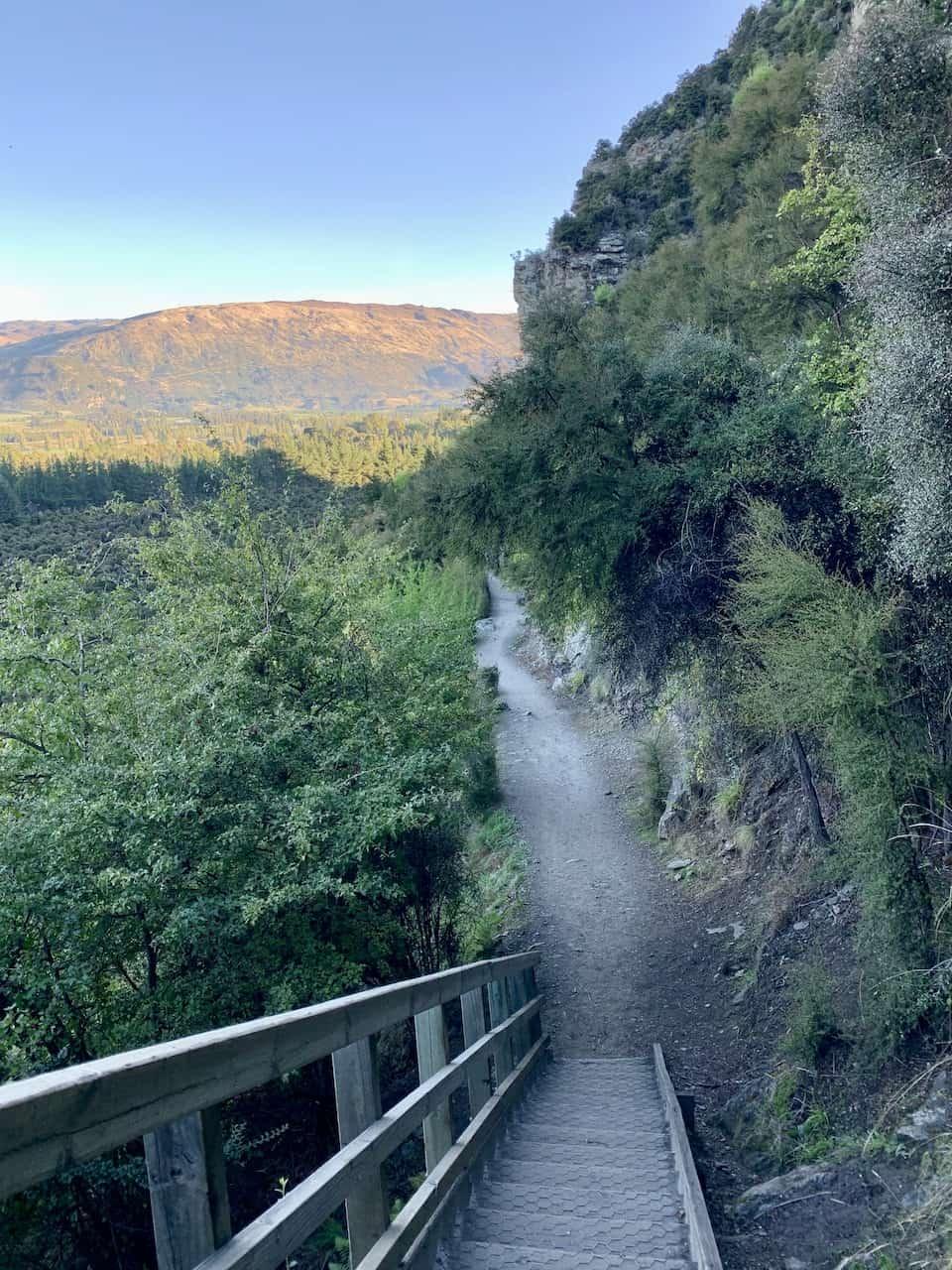 Mount Iron Wanaka Stairs