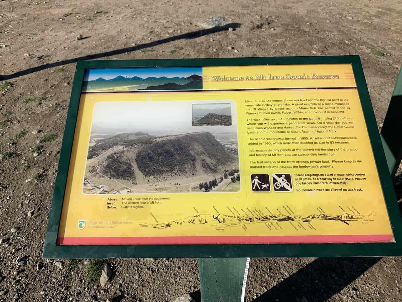 Mt Iron Scenic Reserve Wanaka