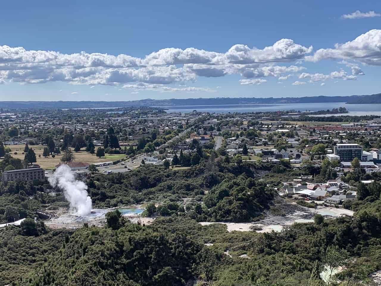 Rotorua Hiking View
