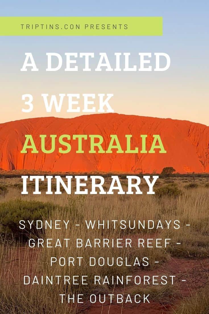 3 Weeks in Australia