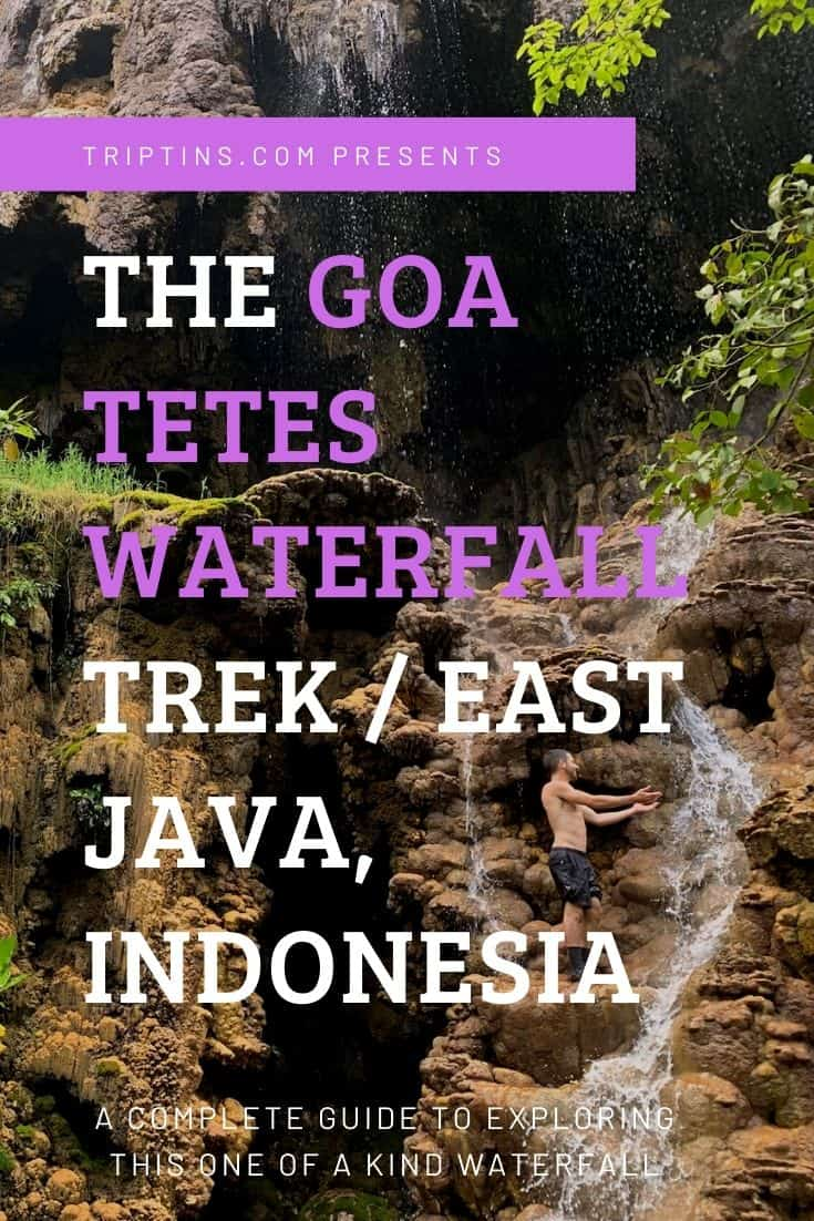 Goa Tetes Waterfall Trek