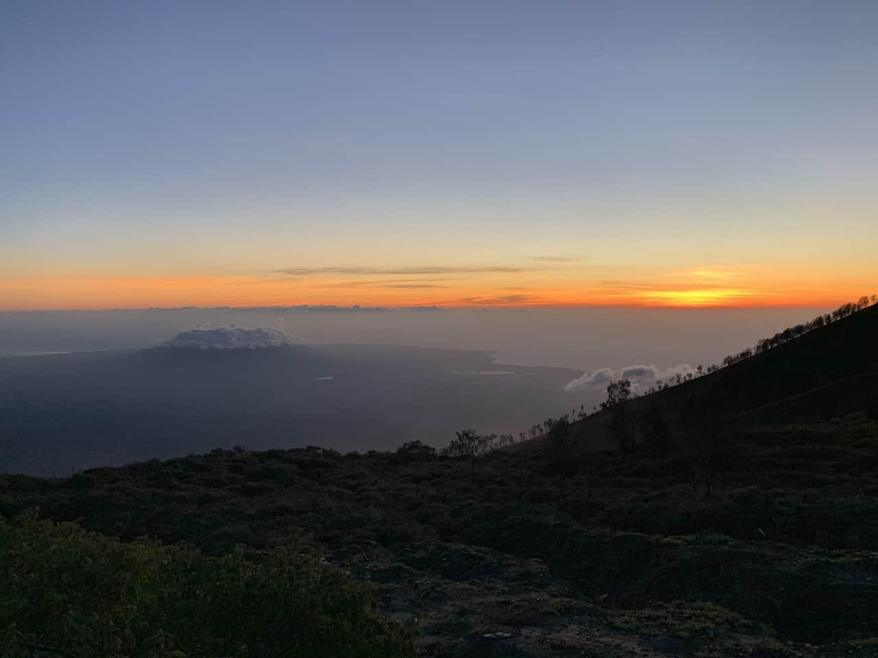 Ijen Volcano Sunrise