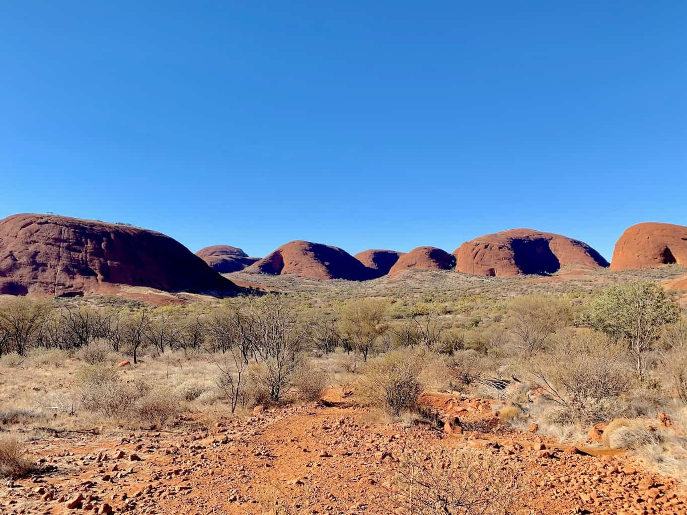 The Kata Tjuta Valley of the Winds Walk