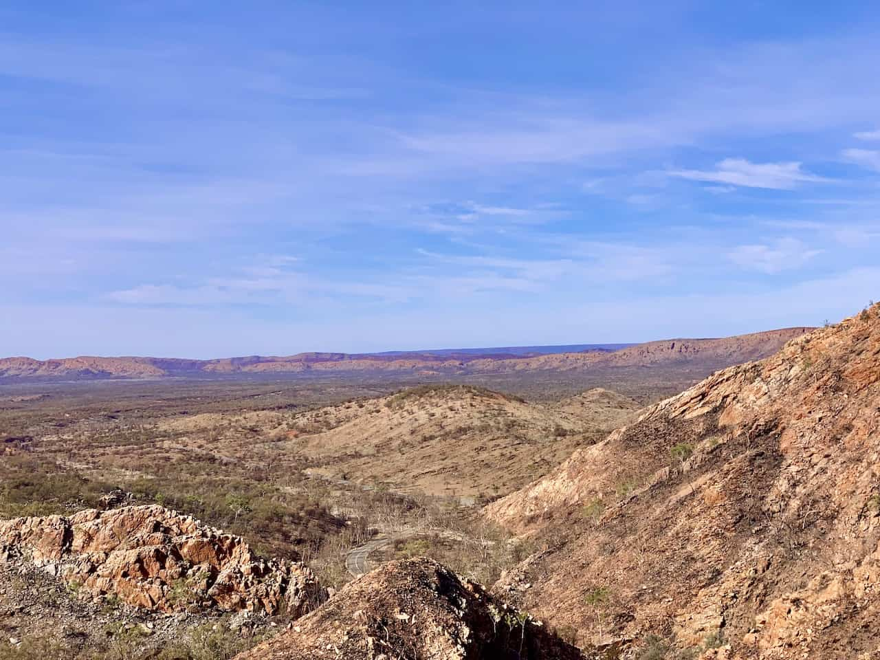 Larapinta Valley Lookout Standley Chasm