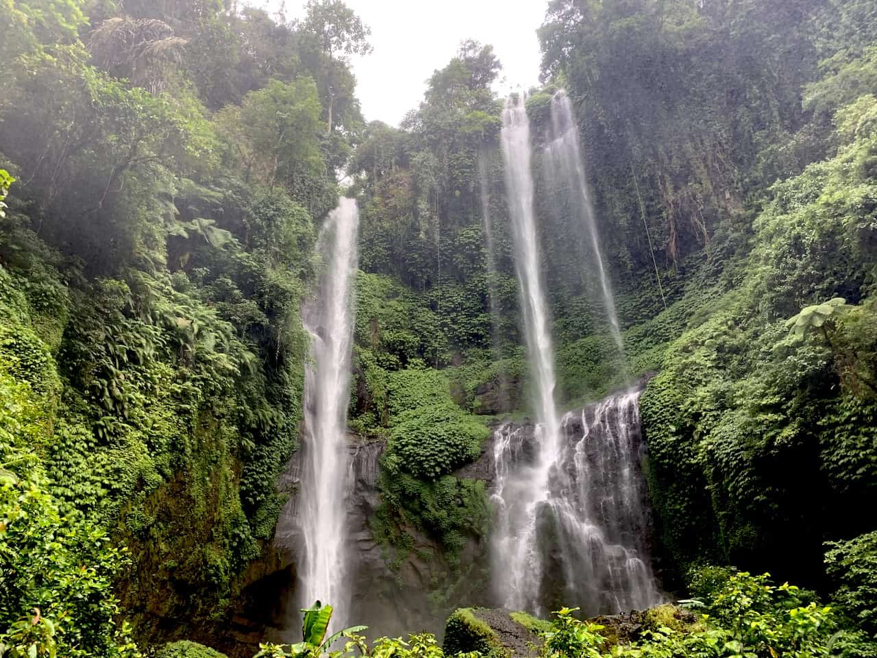 Sekumpul Waterfall Indonesia