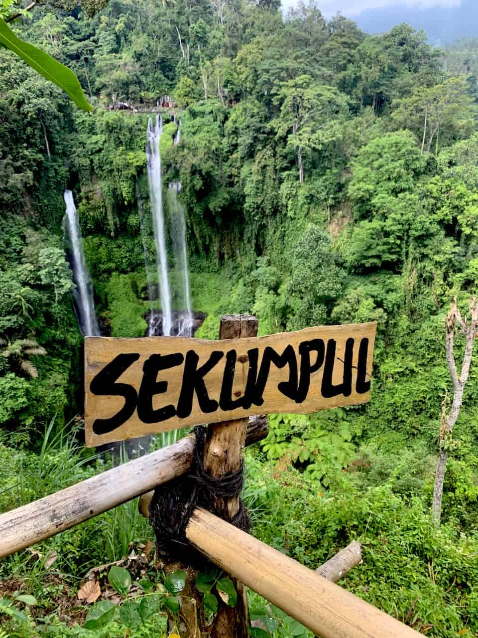 Sekumpul Waterfall View