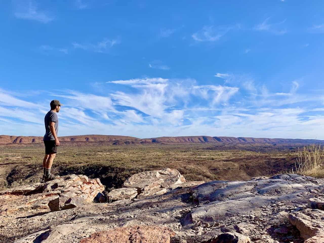 Serpentine Gorge Lookout