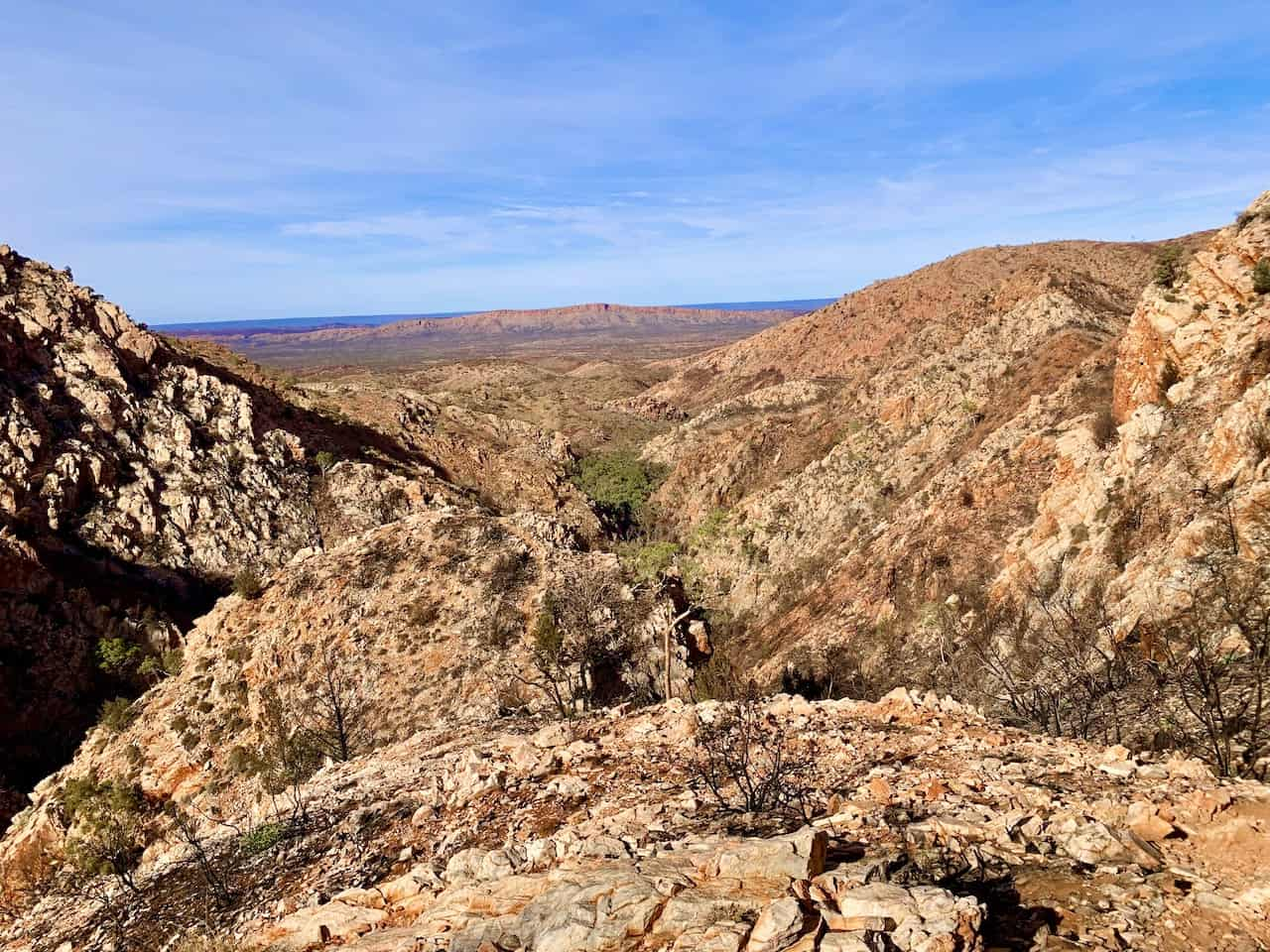 Standley Chasm Angkerle Lookout