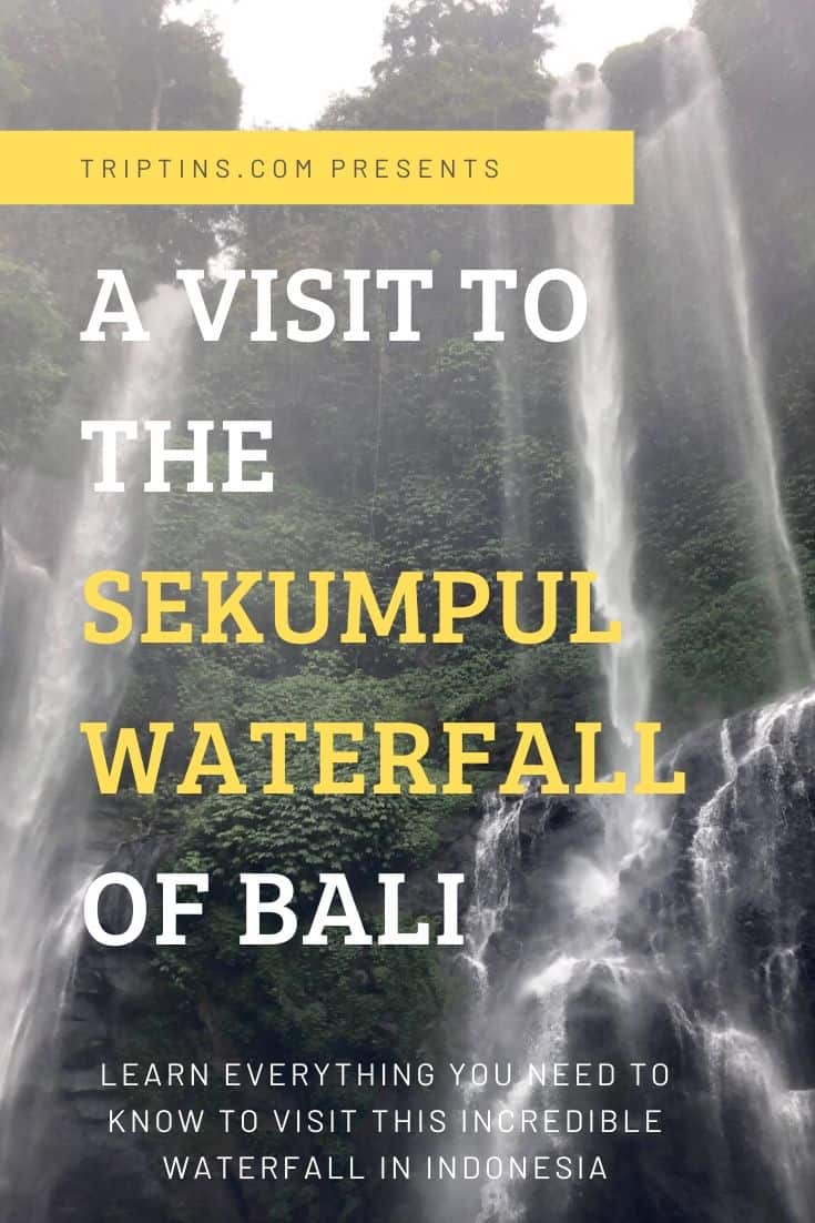 The Sekumpul Waterfall
