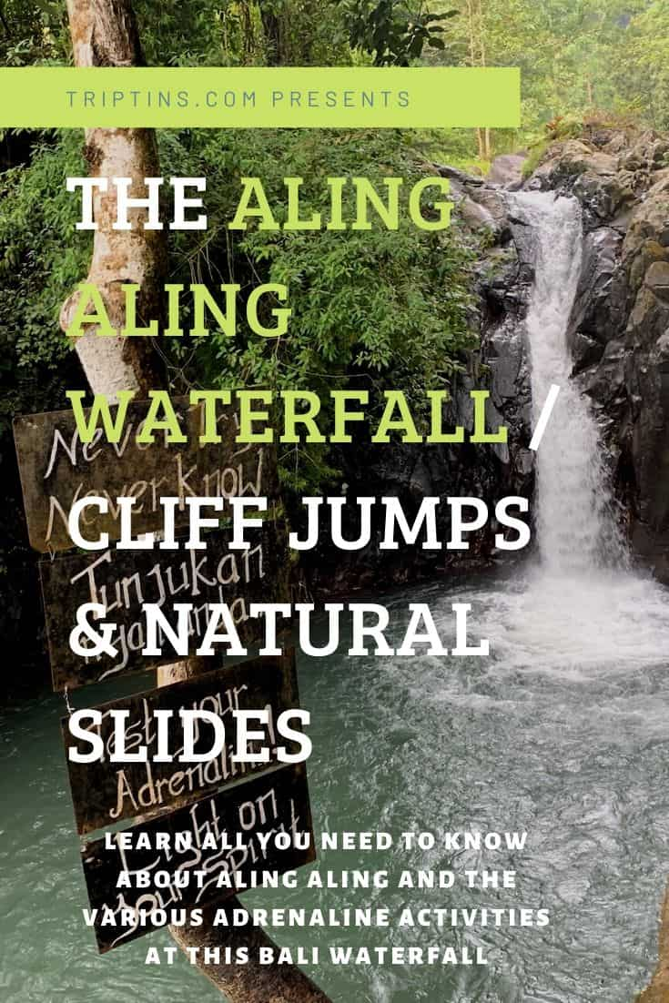 Aling Aling Waterfall Bali Indonesia