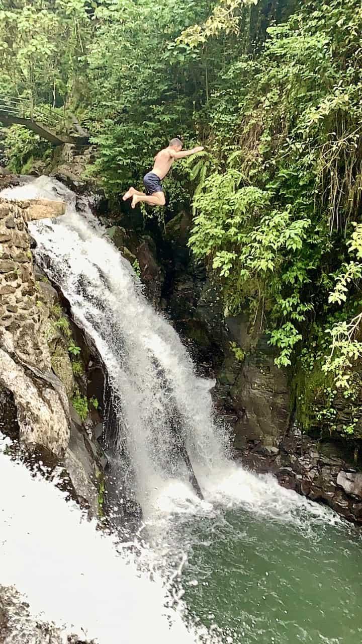Kembar Waterfall Jump