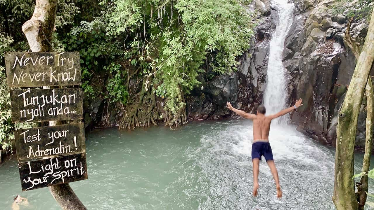 Kroya Waterfall Jump
