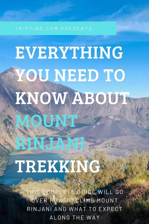 Rinjani Trekking Guide