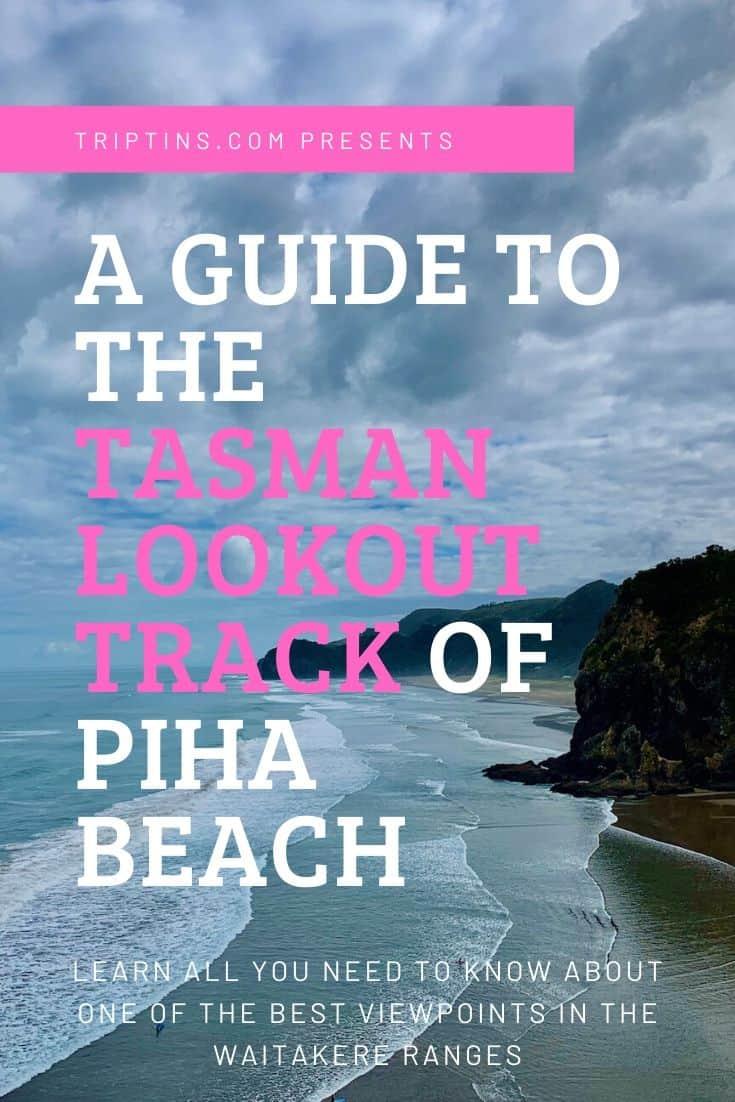 Tasman Lookout Track Piha Beach