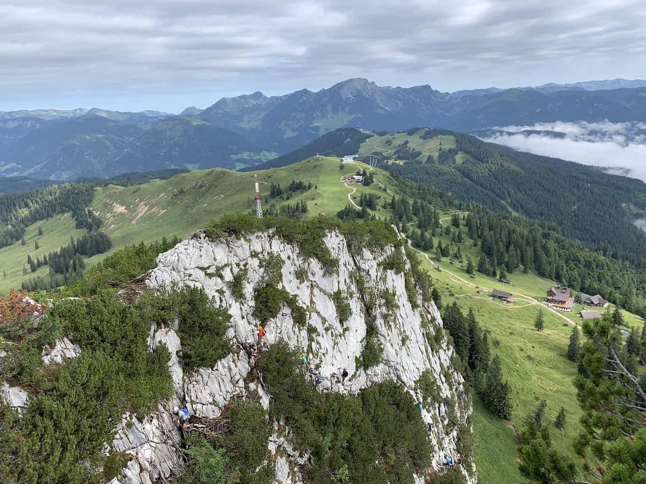 Donnerkogel Klettersteig Stage 1