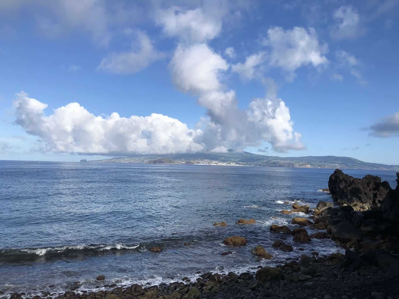Faial View from Pico