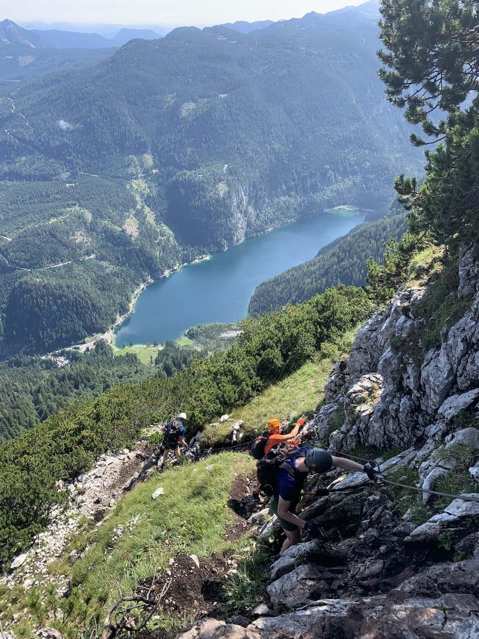 Gosausee Klettersteig View