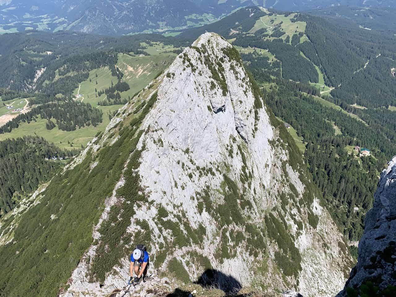 Grosser Donnerkogel Klettersteig
