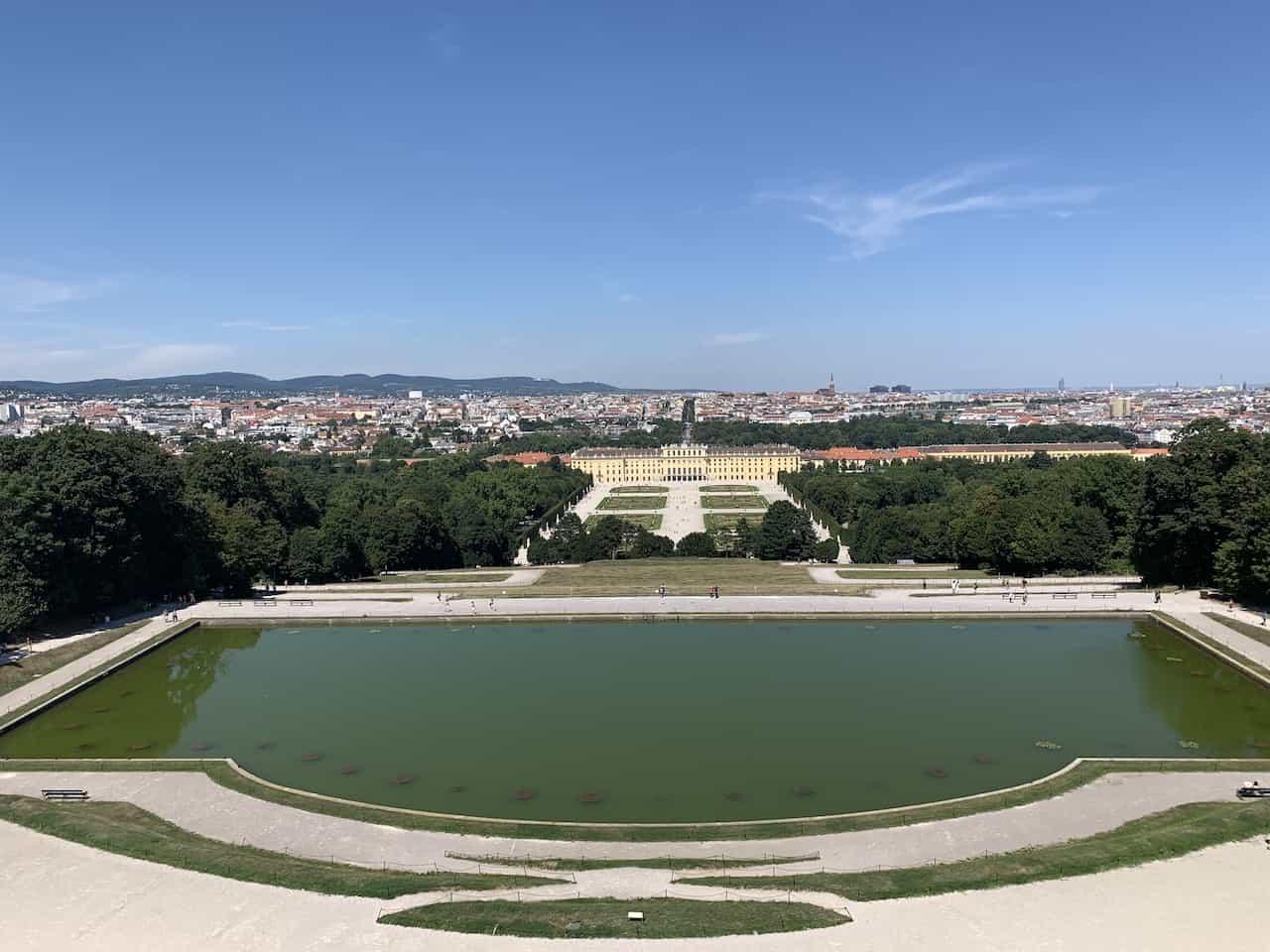 Schonbrunn Palace View
