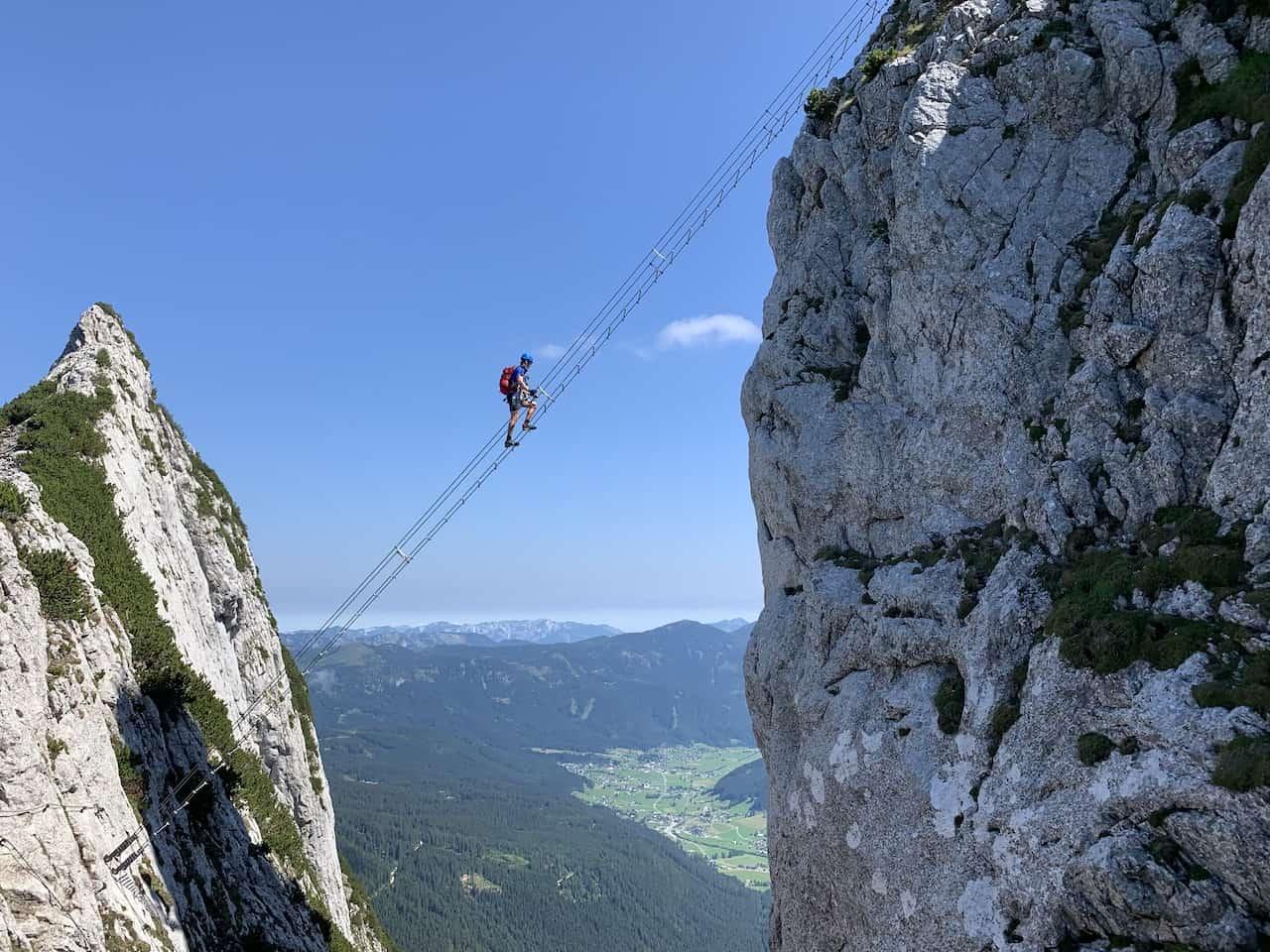 Stairway to Heaven Klettersteig Donnerkogel
